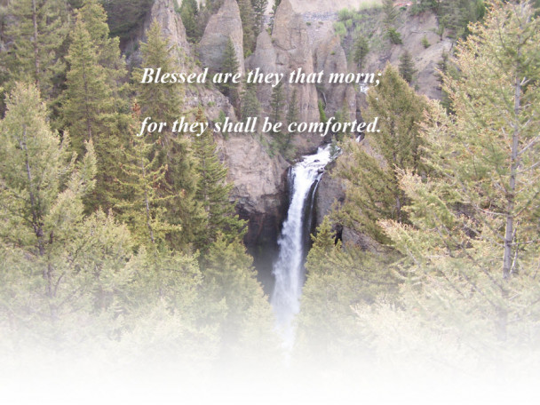 Matthew 5:4 Blessed Are They That Mourn
