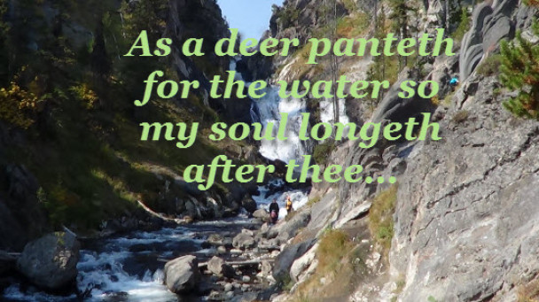 Psalms 42:1 As a Deer Panteth After Water