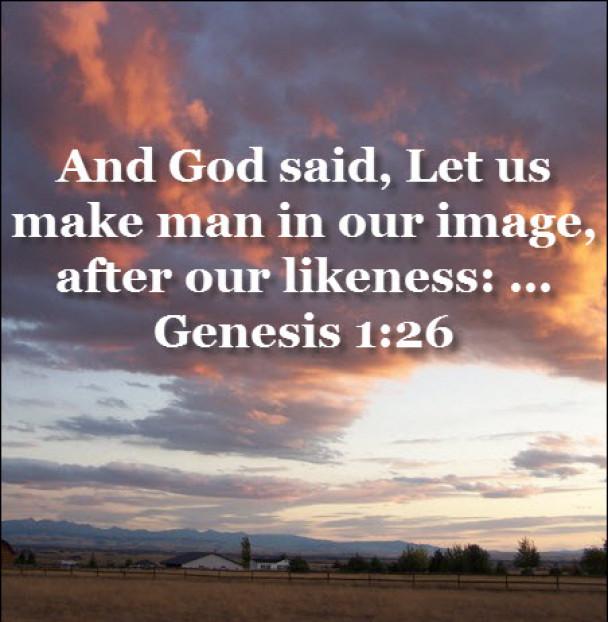 Genesis 1:26 God Created Man