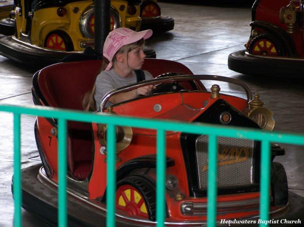 Classic Bumper Car Driver