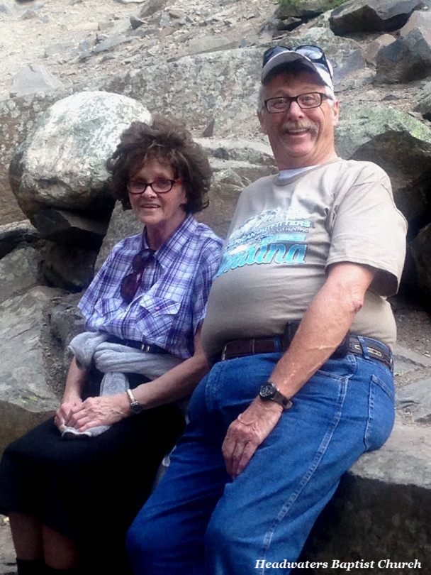 Tom and Jean Lemmon at Hyalite Park