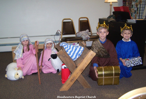 Kings and Shepherds at the Manger