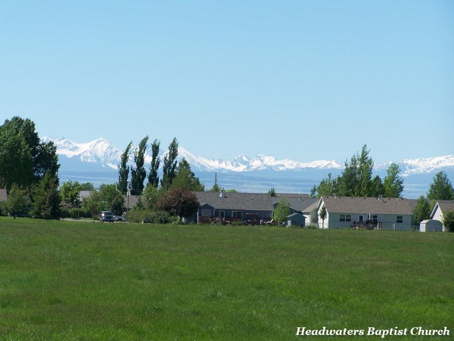 manhattan montana snow peaks